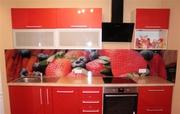 Фартук из стекла для кухни в Алматы