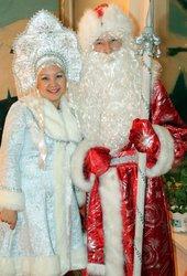 Аяз ата мен ақшақар,  дед мороз и снегурочка в Алматы