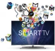 Настройка Smart TV,  приложение,  Wi-Fi,  LAN,  кинотеатры,  обновления
