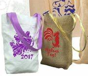 Подарочные мешочки к Новому Году