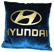 Подушки с логотипом автомобиля. Печать на подушках любых логотипов авт